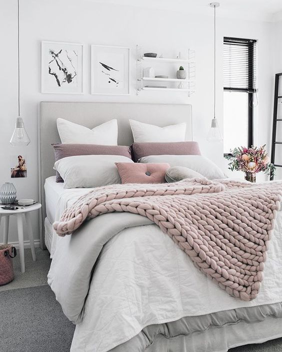 How to make your bed look and feel extra cosy