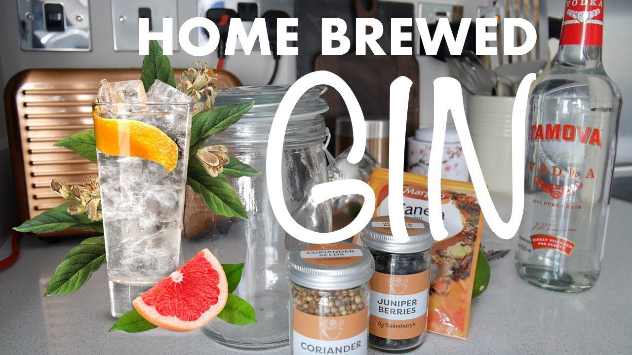 How to make home brewed GIN in 48 hours – A contribution from my Husband
